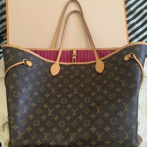 Louis Vuitton never full GM